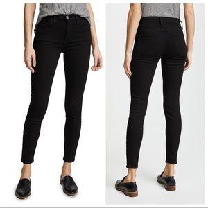 Black Current/Elliot High Waist Stiletto Jean 30